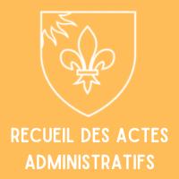 Recueil des Actes Administratifs - 3ème trimestre 2020
