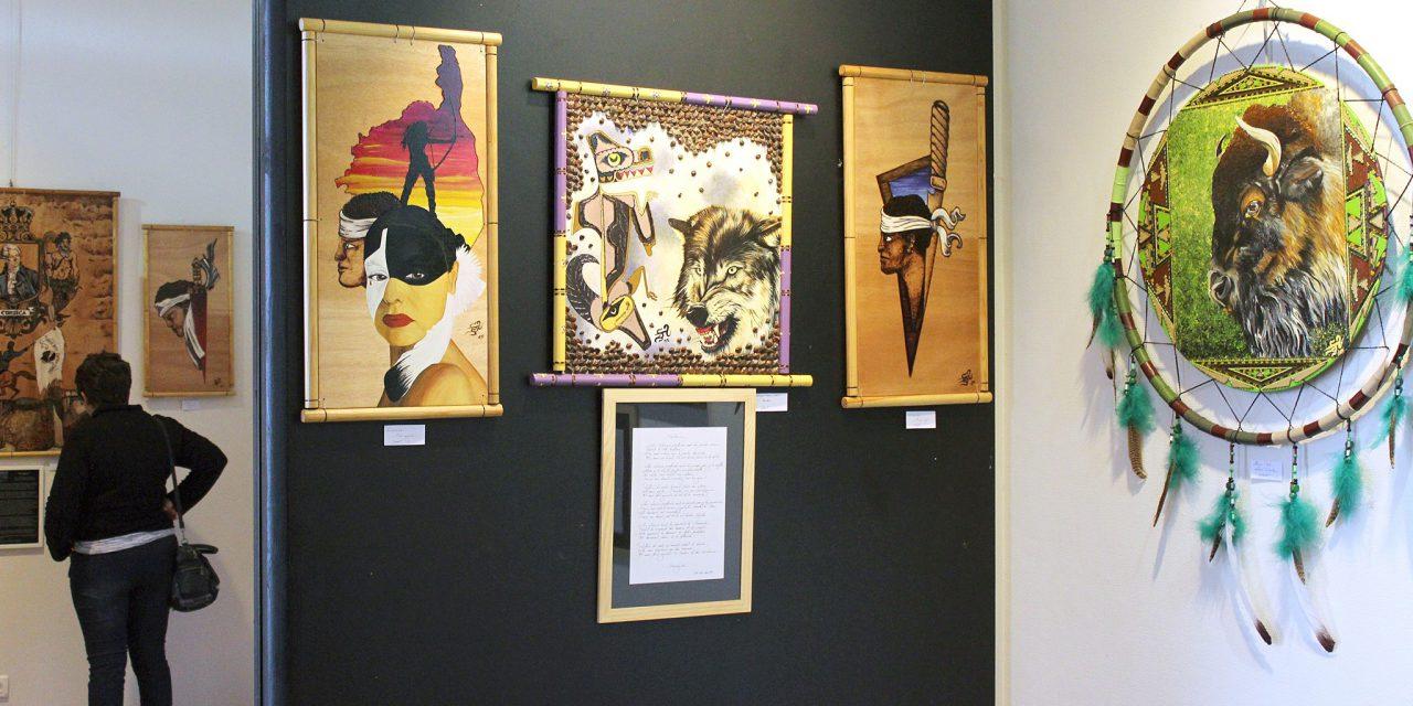 Exposition de SACAJAWA & Patrick SALDUCCI