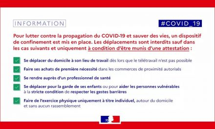 Communiqué CCAS COVID-19