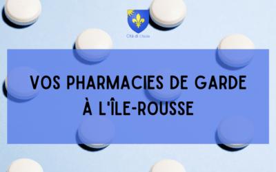 Vos pharmacies de garde