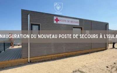 Inauguration du nouveau poste de secours à L'Isula