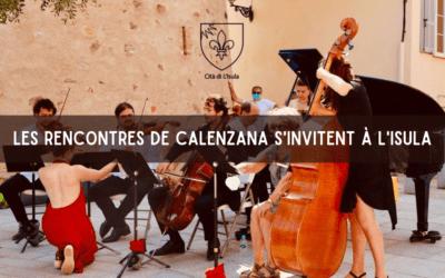 Les rencontres de Calenzana s'invitent à L'Isula