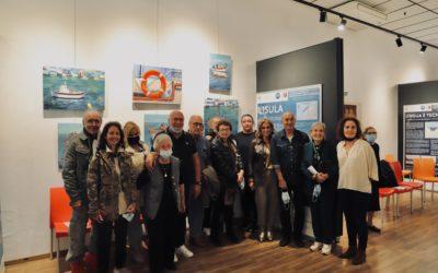Présentation de l'exposition sur la pêche et la navigation